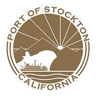 Port of Stockton logo