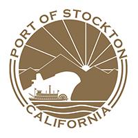 Port of Stockton logo